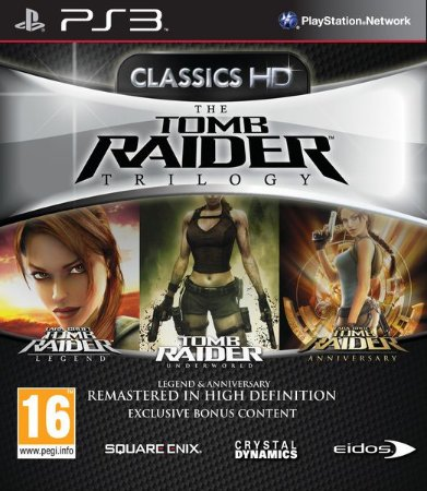 Jogo PS3 The Tomb Raider Trilogy - Square-Enix