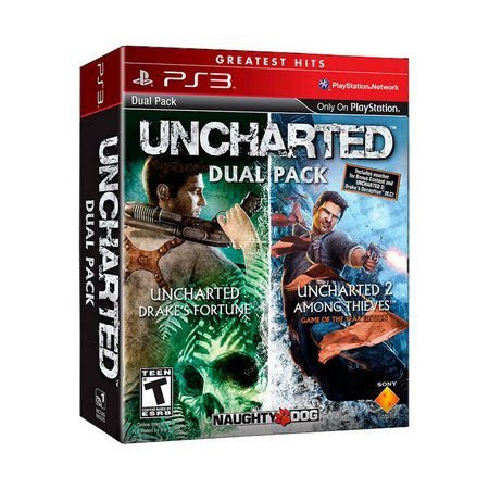 Usado Jogo PS3 Uncharted Dual Pack - Sony