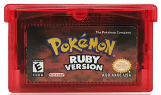 Jogo Game Boy Advance Pokemon Ruby Version - Nintendo