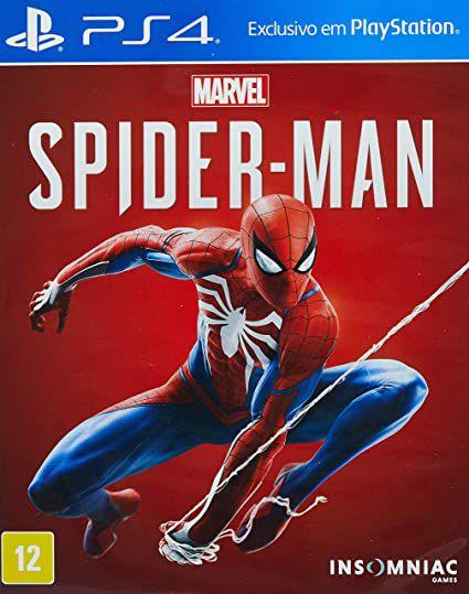 Usado Jogo PS4 Marvel Spider Man - Insomniac Games