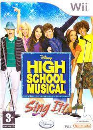 Usado Jogo Nintendo Wii Disney High School Musical Sing It com Microfone - Disney