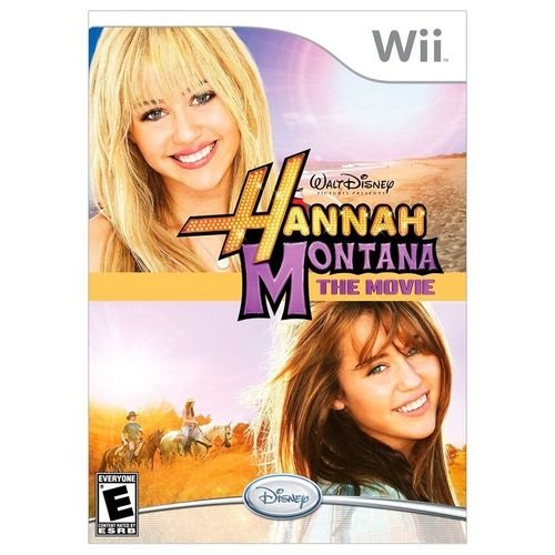 Jogo Nintendo Wii Disney Hannah Montana the Movie - Disney