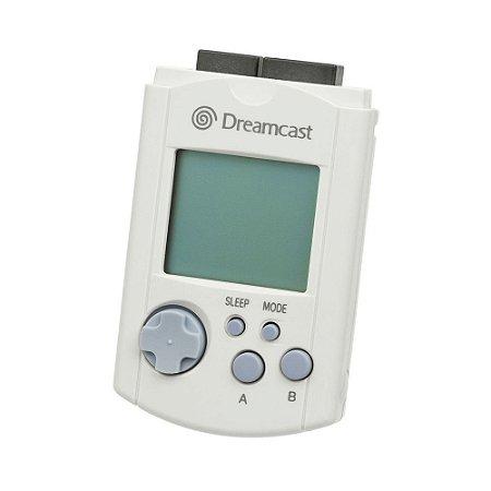 Usado Acessório Dreamcast VMU Visual Memory Unit Branco Original - Sega