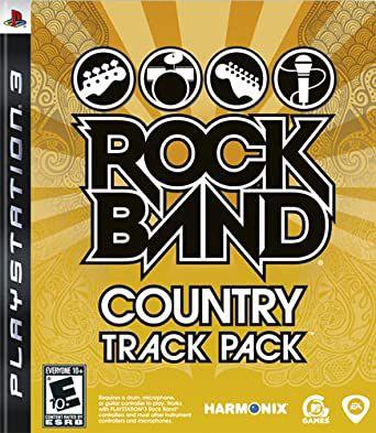 Usado Jogo PS3 Rock Band Country Track Pack - EA