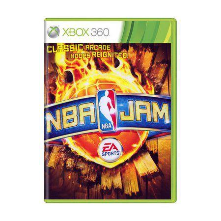 Usado Jogo Xbox 360  NBA Jam - EA Sports