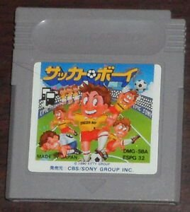 Jogo Nintendo Game Boy SBA Soccer Boy