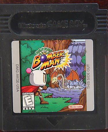 Usado Jogo Game Boy Pocket Bomber Man - Hudson