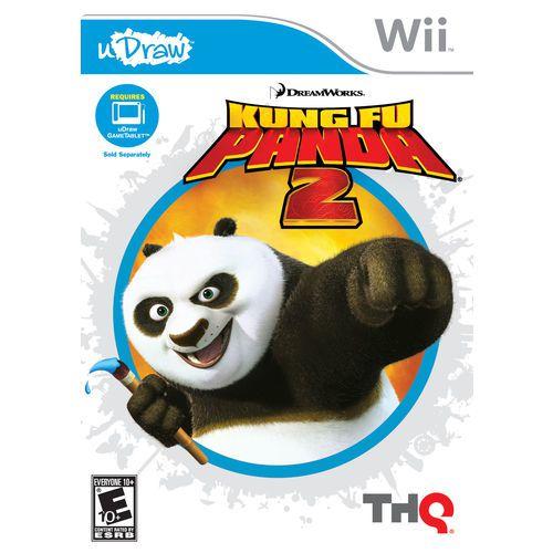 Usado Jogo Nintendo Wii UDraw Kung Fu Panda 2 - THQ