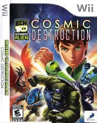 Usado Jogo Nintendo Wii Ben 10 Ultimate Alien: Cosmic Destruction - D3 Publisher