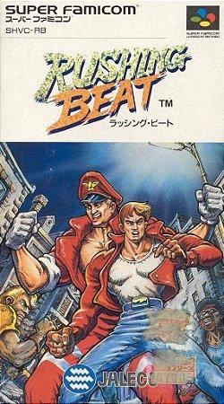 Jogo Super Famicom Rushing Beat   na caixa - Jaleco