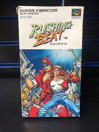 Usado Jogo Super Famicom Rushing Beat | na caixa - Jaleco