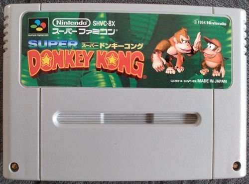 Jogo Super Famicom Super Donkey Kong SHVC-8X - Nintendo