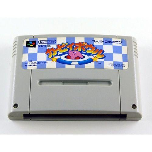 Usado Jogo Super Famicom Kirby Bowl Kirby's Dream Course - Nintendo