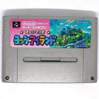Usado Jogo Super Famicom Super Mario World 2 Yoshi's Island - Nintendo