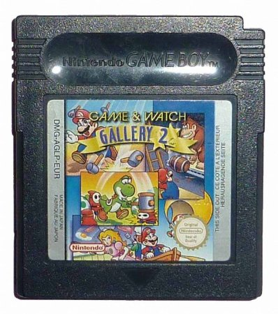 Usado Jogo Game Boy Game & Watch Gallery 2 - Nintendo
