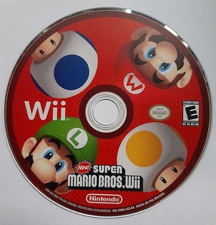 Usado Jogo Nintendo Wii New Super Mario Bros Wii - Loose - Nintendo