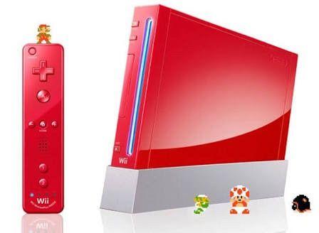 Usado Console Nintendo Wii Vermelho - Nintendo