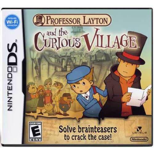 Jogo Nintendo DS Professor Layton And The Curious Village   Europeu