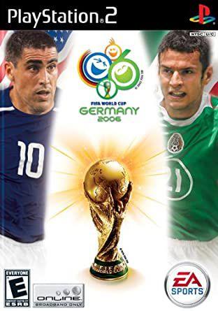 Jogo Ps2 Fifa Word Cup Germany 2006 - EA sport