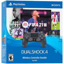 Controle PS4 Dualshock 4 Preto + Fifa 21 - Sony