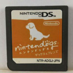 Usado Jogo Nintendo DS Nintendogs Dachshund & Friends (loose) Japonês - Nintendo