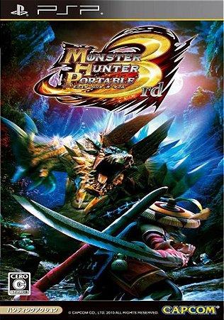 Jogo Psp Monster Hunter 3RD Portable Japonês - Capcom