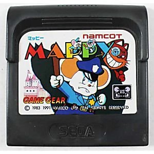 Usado Jogo Game Gear Mappy (loose) | Japonês - Namco