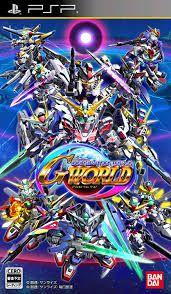 Usado Jogo PSP SD Gundam G Generation World Japonês - Bandai