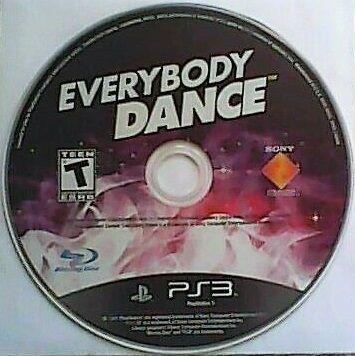 Jogo PS3 Everybody Dance (loose) - Sony