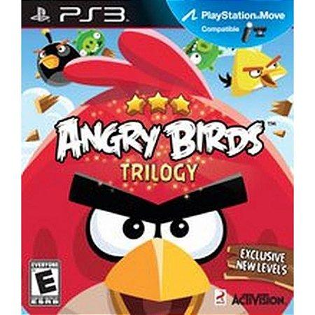 Usado Jogo PS3 Angry Birds Trilogy - Activision