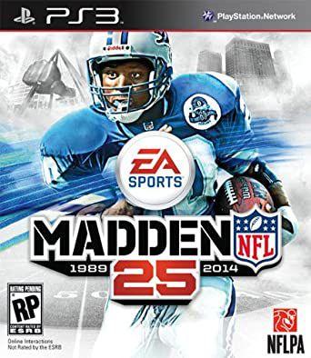 Usado Jogo PS3 Madden NFL 25 - EA Sports