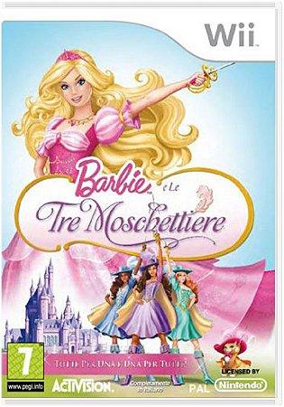 Jogo Nintendo Wii Barbie Tre Moschettiere - Activision