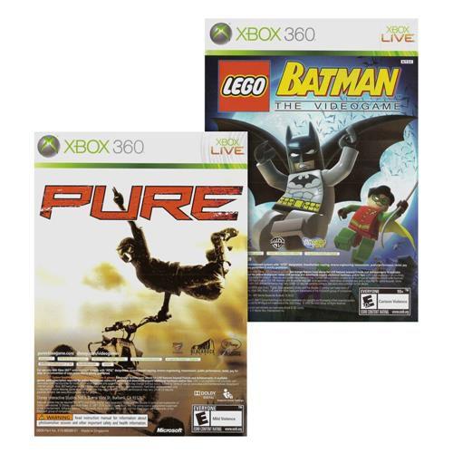 Usado Jogo Xbox 360 Pure e Lego Batman - WB Games