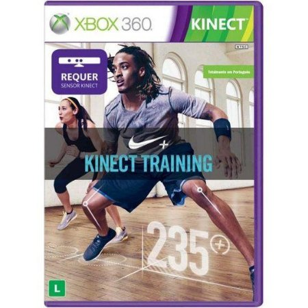Usado Jogo Xbox 360 Kinect Nike+ Training - Microsoft