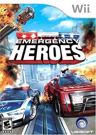 Jogo Nintendo Wii Emergency Heroes - Ubisoft