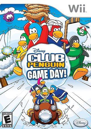 Usado Jogo Nintendo Wii Club Penguin: Game Day - Disney
