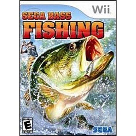 Jogo Nintendo Wii Sega Bass Fishing - Sega