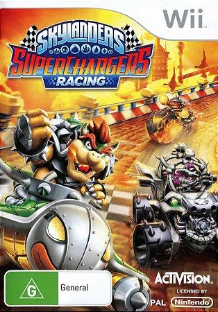 Usado Jogo Nintendo Wii Skylanders Superchargers Racing - Activision