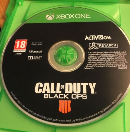 Jogo Xbox One Call of Duty Black Ops 4 (loose) - Activision