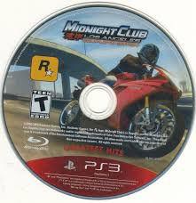 Jogo PS3 Midnight Club Los Angeles (loose) - Complete Edition - Rockstar