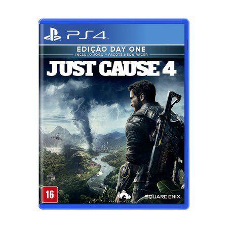 Usado Jogo PS4 Just Cause 4 - Square Enix
