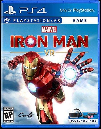 Usado Jogo PS4 Marvel Iron Man VR - Marvel