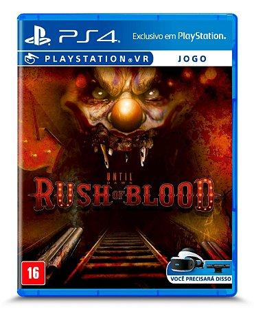 Jogo PS4 Until Dawn Rush of Blood VR - Sony
