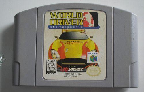Jogo Nintendo 64 World Driver Championship - Midway