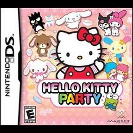 Usado Jogo Nintendo DS Hello Kitty Party - Majesco