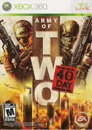 Usado Jogo Xbox 360 Army Of Two The 40th Day - Eletronic Arts
