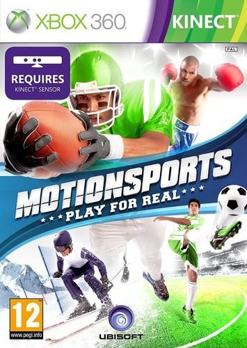 Jogo Xbox 360 Kinect MotionSports Play For Real - Ubisoft