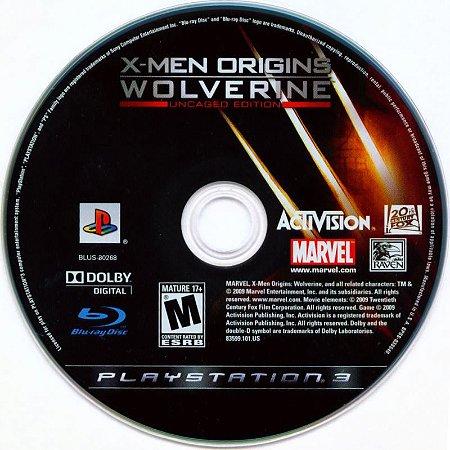 Jogo PS3 X-men Origins Wolverine (Loose) - Activision