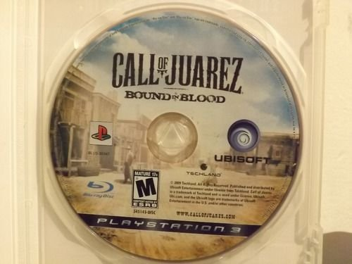 Usado Jogo PS3 Call of Juarez: Bound in Blood (loose) - Ubisoft