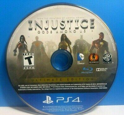 Jogo PS4 Injustice Gods Among Us (loose) - Warner Bros